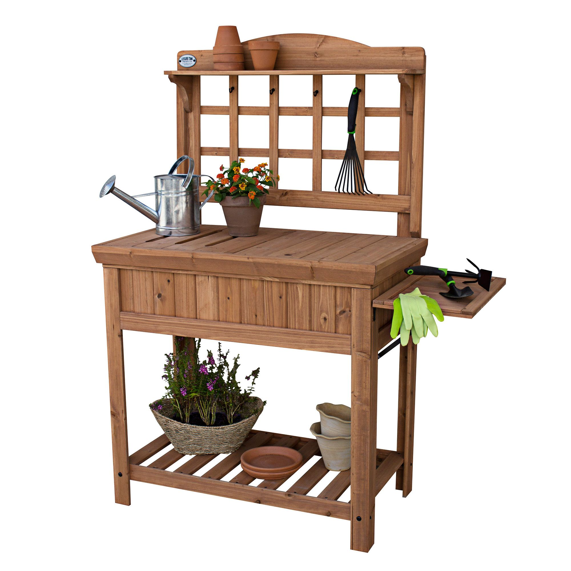 southern bench table potting plans from pallets free living sink with