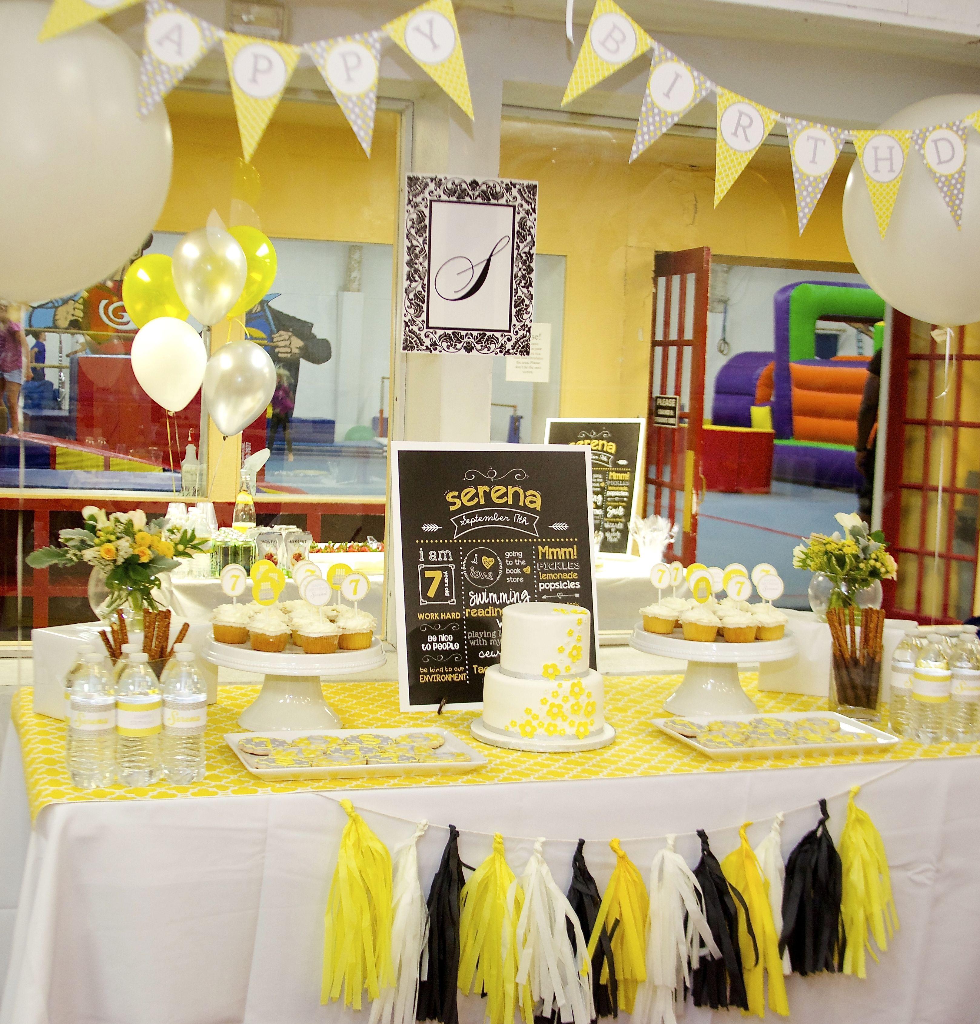 Serena S Sunny 7th Birthday Party Childrens Birthday Party