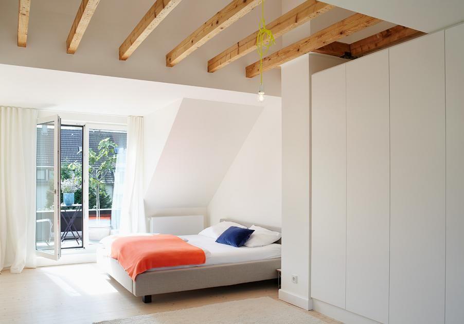 Schlafzimmer Der Eltern Bild 10 Wohnen Raume Mit Dachschragen Schlafzimmer Dachschrage