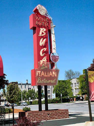 Buca S Italian Restaurant 5782 Signs Milwaukee