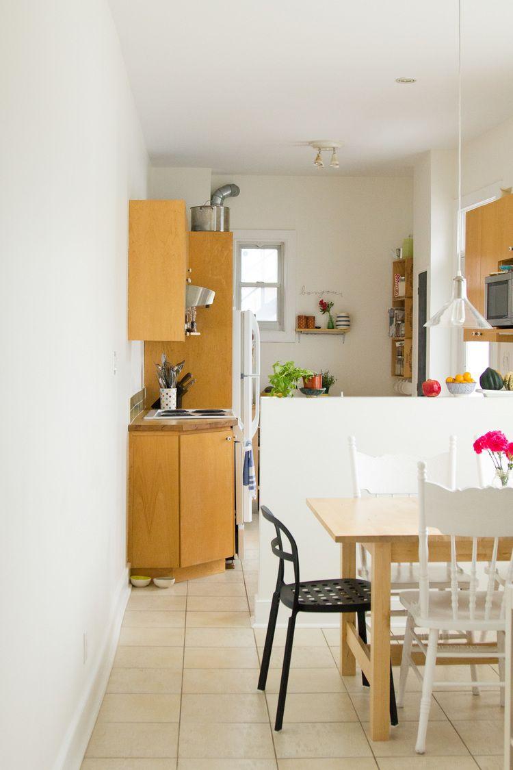 Tiny dining room + tiny kichen