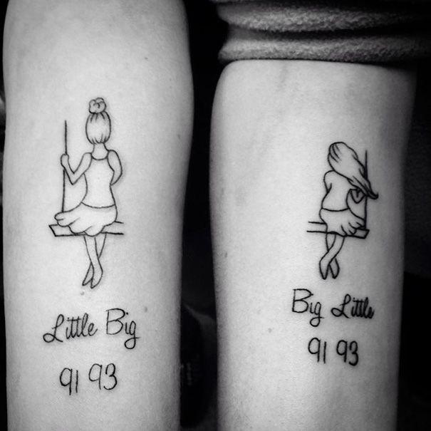 30 ideias para fazeres uma tatuagem com a tua irmã   Tá Bonito