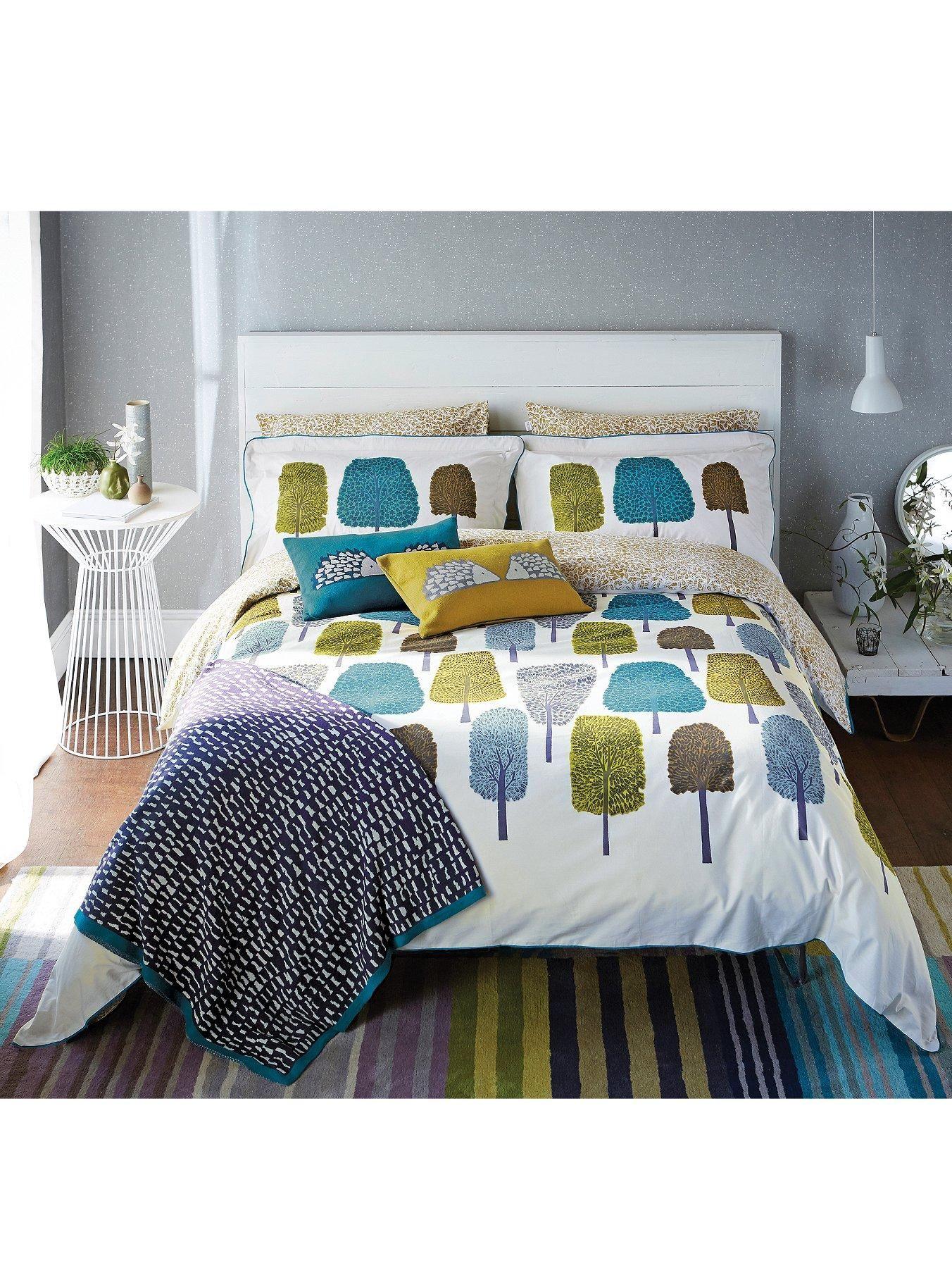 Master bedroom for single woman  SCION Cedar Duvet Cover Set  very  Home style  Pinterest