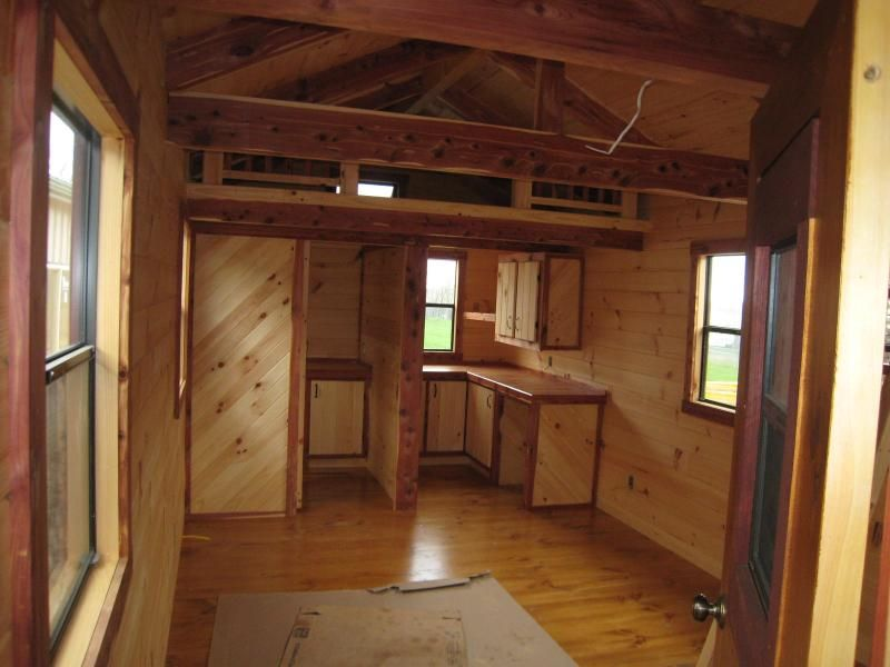 Lofted Barn Cabin Interiors Tiny Homes