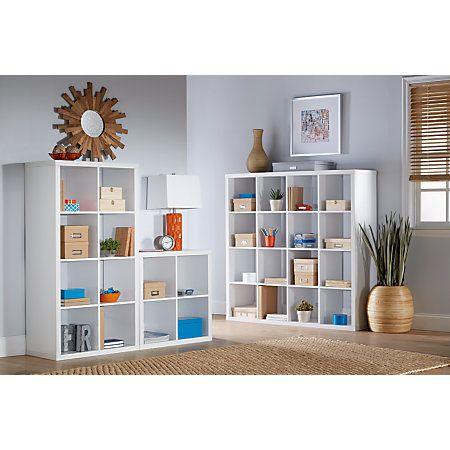 cube shelving unit bookcase hack bookcases units ikea white shelf
