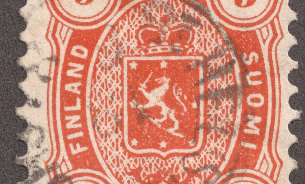 1875 81 5p Orange Coat Of Arms Of Finland Quick History Finland Was An Autonomous Grand Principality In The Russian Emp Finland History Of Finland Coat Of Arms