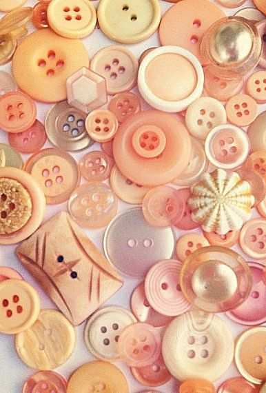 Buttons in Apricot and Peach.                              …
