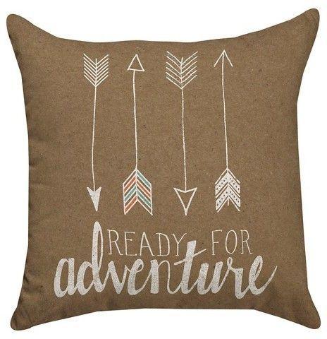 Thumbprintz Ready For Adventure Throw Pillow Playrooms Throw Amazing Storehouse Brand Decorative Pillows