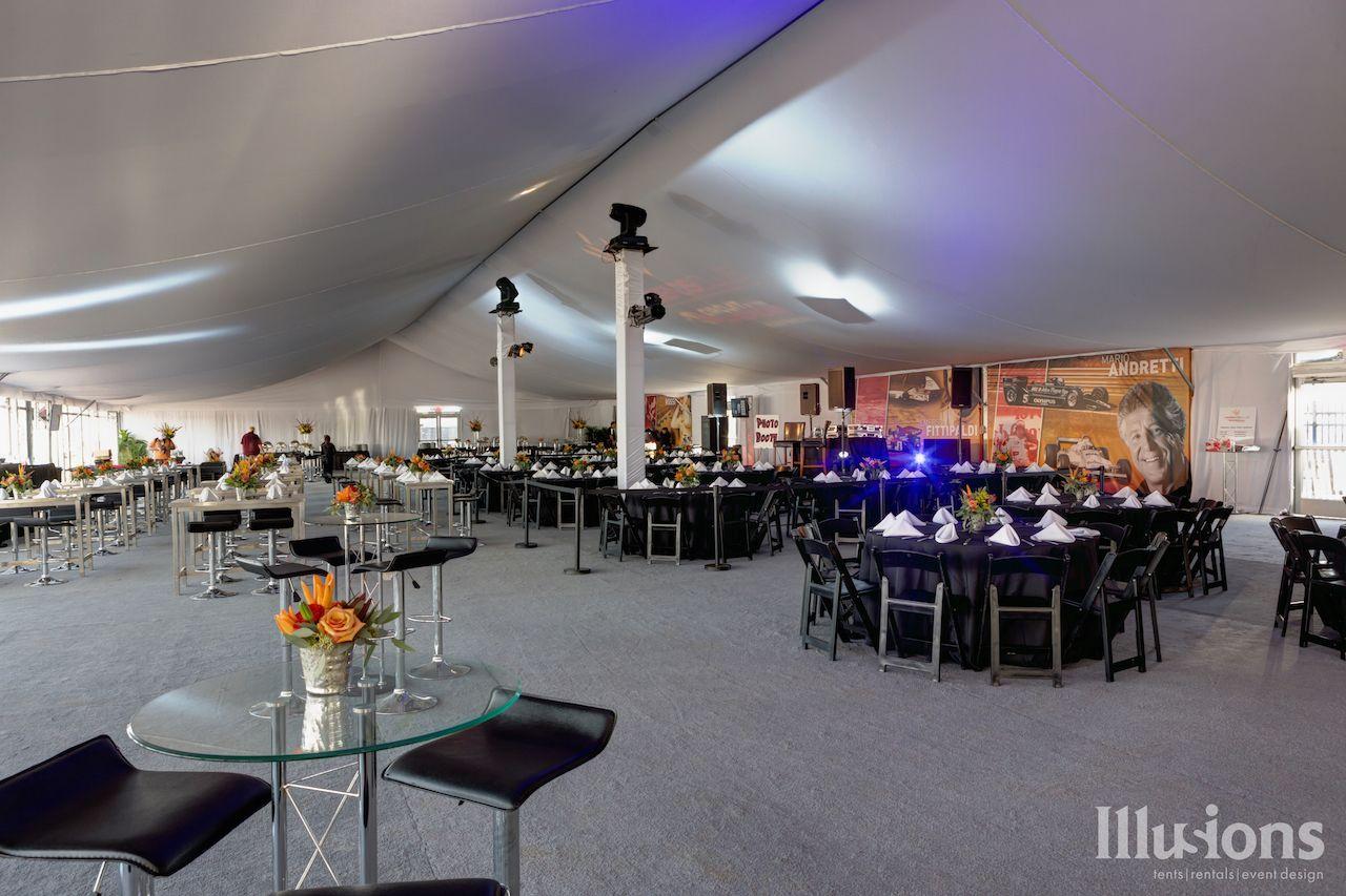 Modern Lounge Furniture | VIP Experience Tent | COTA Austin, Texas ...