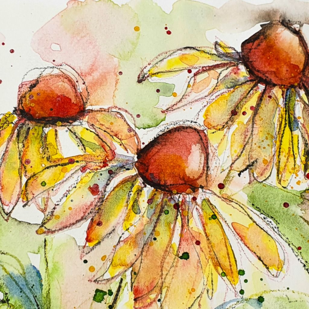 Easy Watercolor Tutorial Aquarellanleitungen Wasserfarben Malen Tutorial Wasserfarbenblumen
