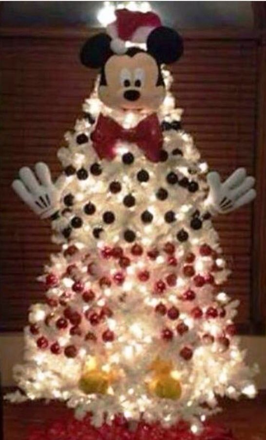 mickey mouse christmas tree