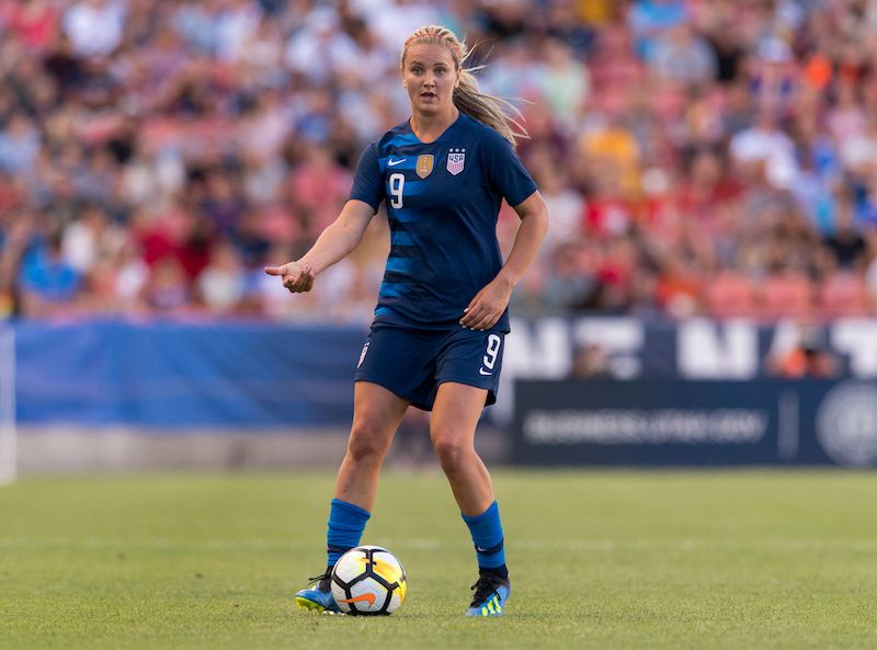 Lindsey Horan 2018 Ton Roster Uswnt Uswnt Soccer Uswnt Womens Soccer
