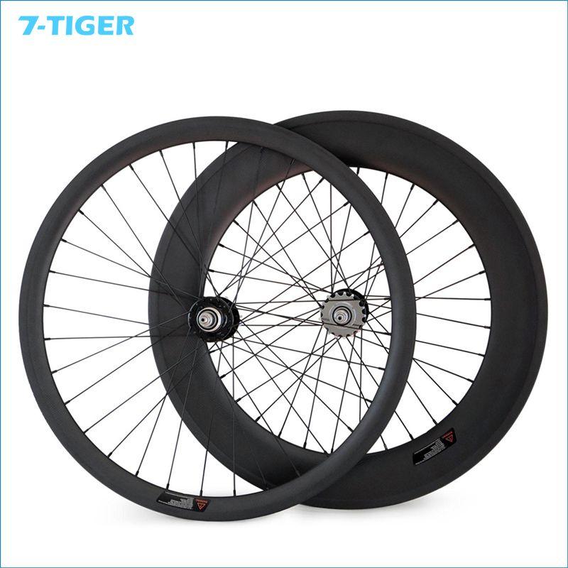700c 23mm Width 38mm Front 88mm Rear Fixed Gear Track Bike Carbon