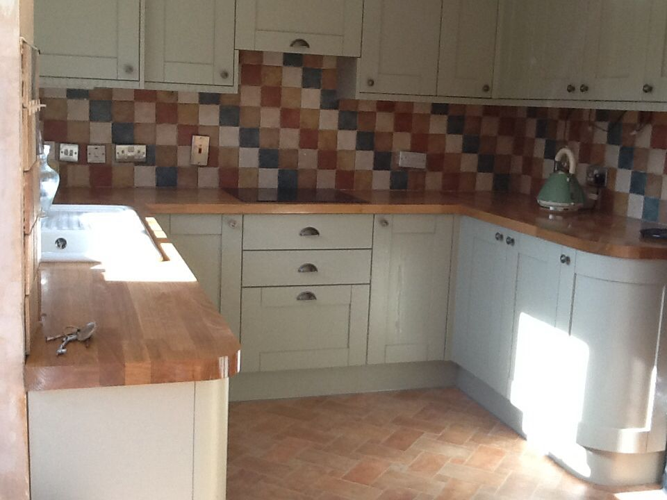Autumn colours kitchen