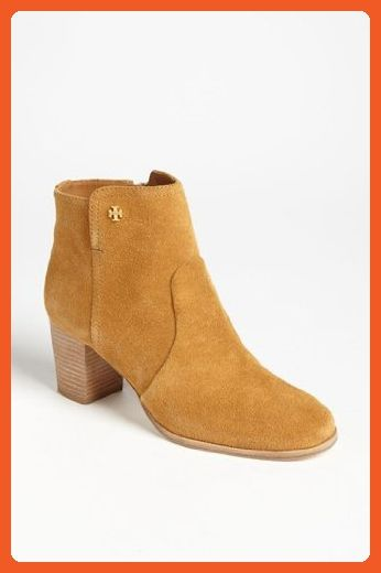 635779a0b35 Tory Burch Sabe 65mm Split Suede Bootie in Caramel Size 7.5 - Boots for  women (
