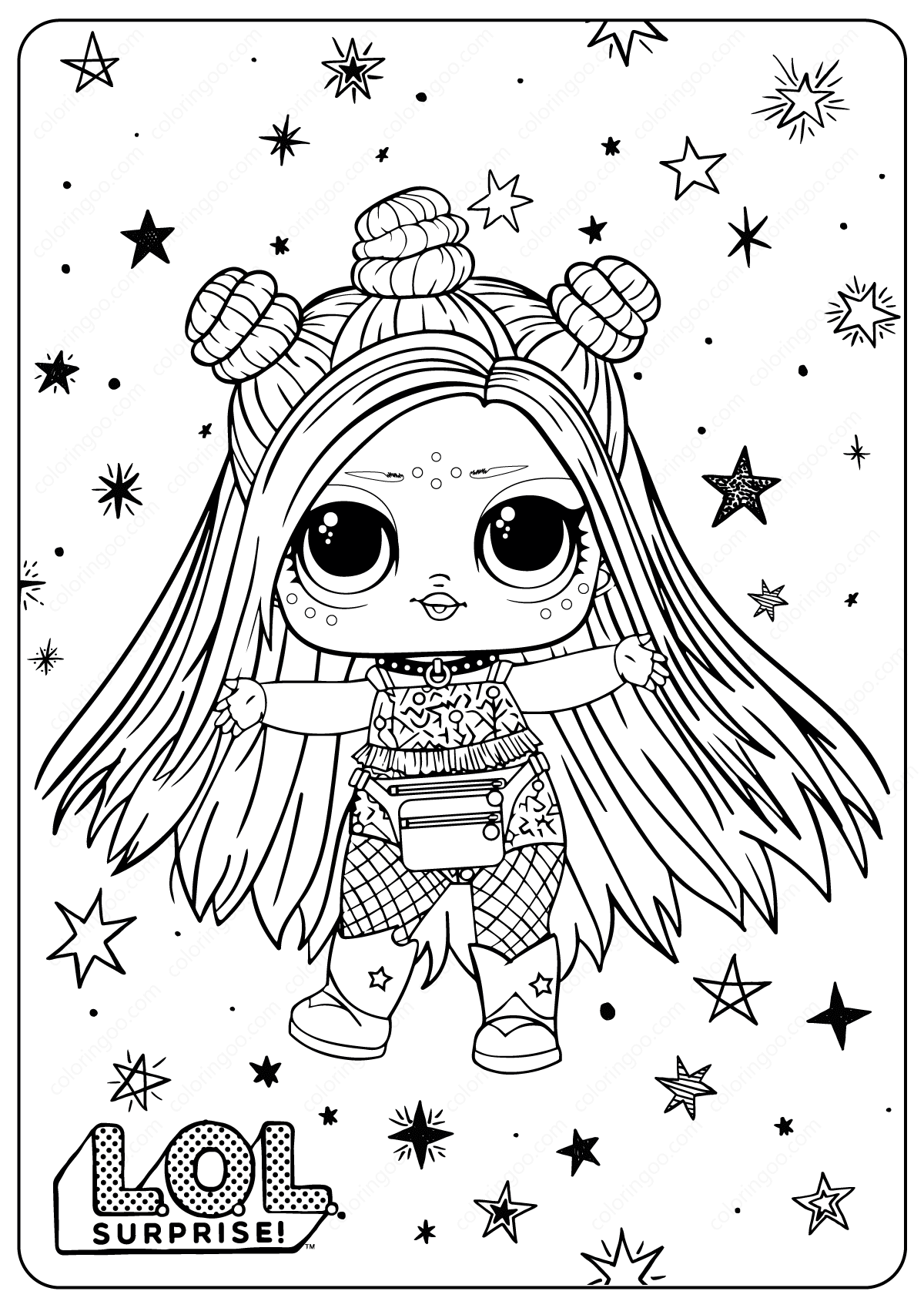 Free Printable Lol Surprise Hairgoals Coloring Pages Barbie Coloring Pages Shopkins Colouring Pages Kids Printable Coloring Pages