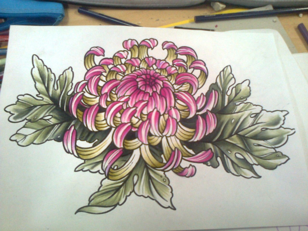 japan chrysanthemum design Google Search Floral