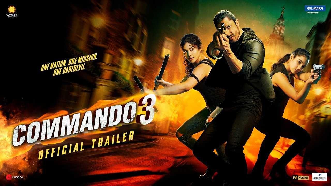 Commando 3 Ringtone Ft Tera Baap Aaya Vityut Recommended Movie Songs Bollywood Movie Official Trailer