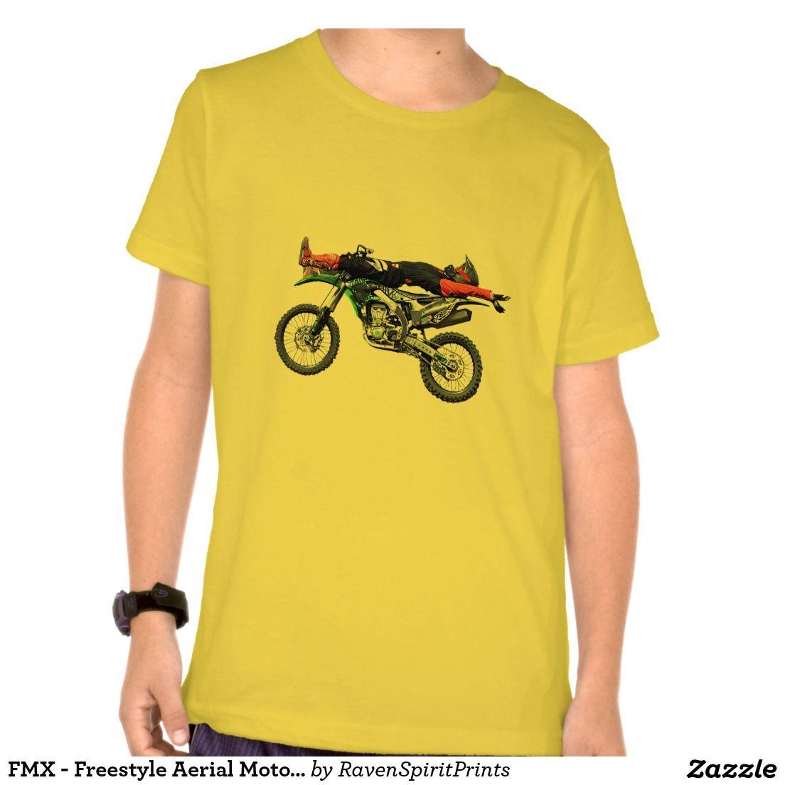 FMX - Freestyle Aerial Motocross Stunt III Tee Shirts
