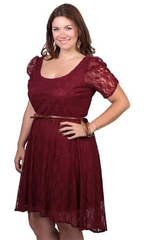 66cbc29bf4673 plus size lace high low dress with belted bow waist