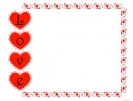 picture about Valentine Borders Free Printable titled No cost Printable Sbook Papers and Embellishments