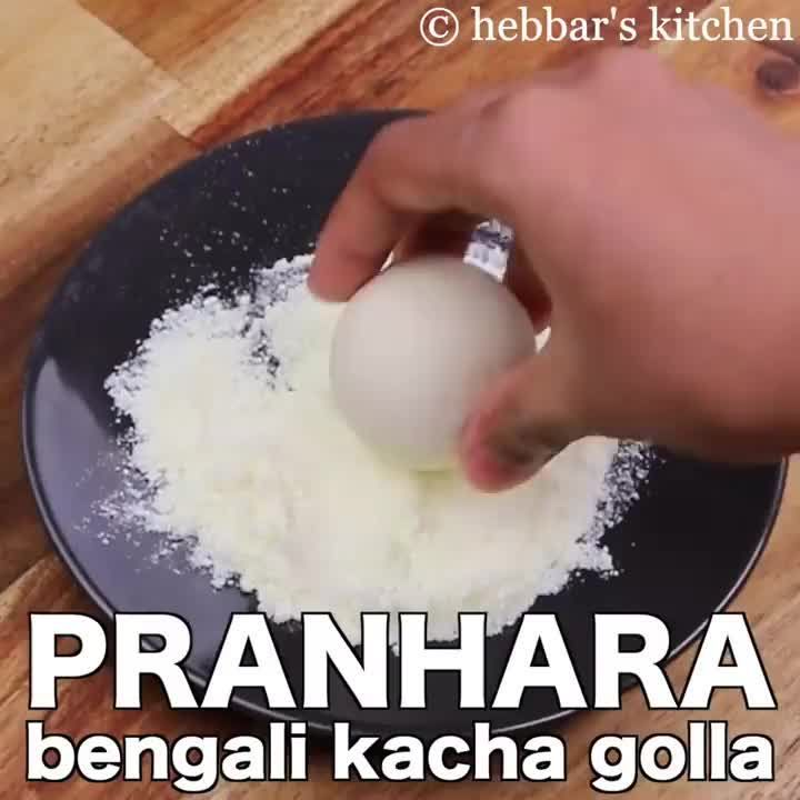 hebbar s kitchen on instagram pranhara recipe bengali kacha golla full recipe bit ly on hebbar s kitchen videos snacks id=63195