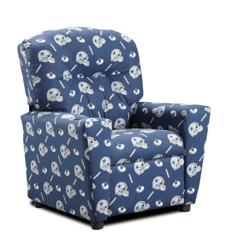 San Diego Chargers Chair: Dallas Cowboys Kids Recliner $149.00 Perfect For A Mini