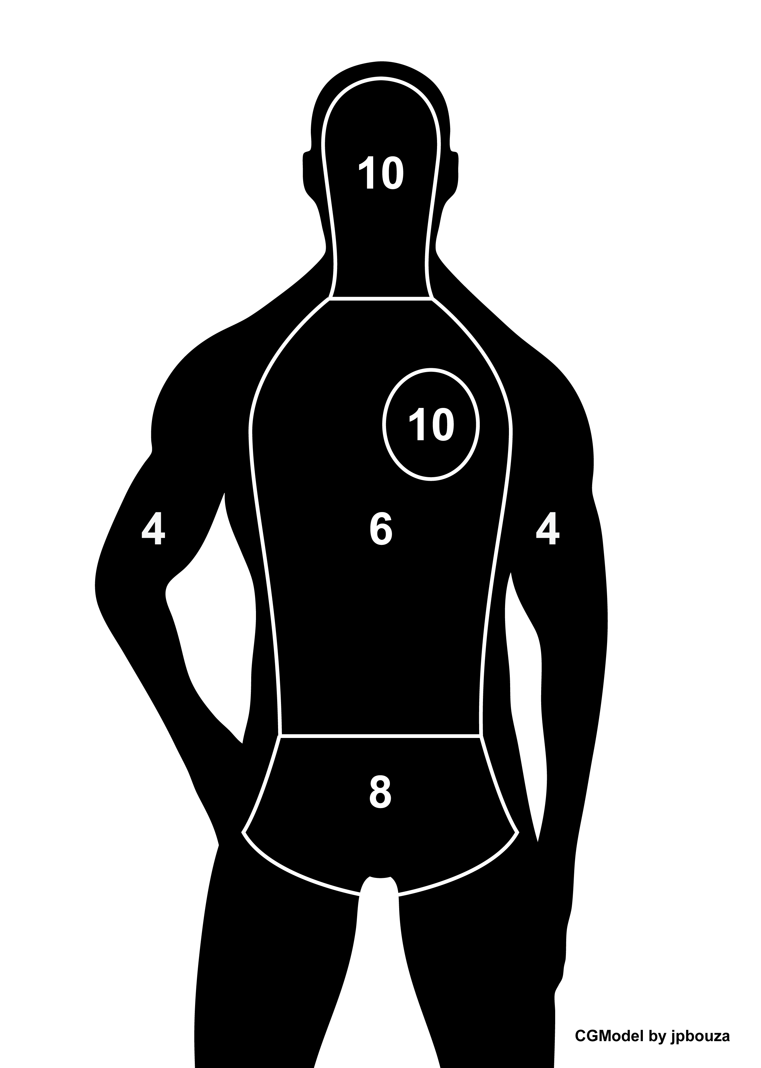Http 4vector Com I Free Vector The Set Of Target Vectors Human Circle Birds And Wolf 130993 Set 20of 20targets Shooting Targets Pistol Targets Range Targets