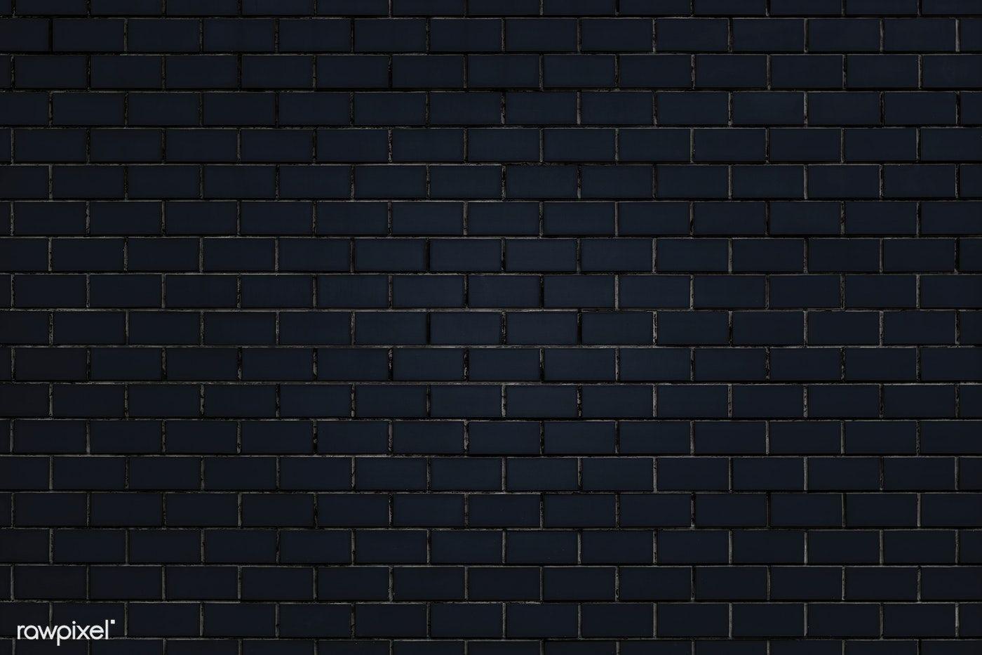 Black Free Image By Rawpixel Com Ake Chim Black Brick Wall Black Brick Brick Wall