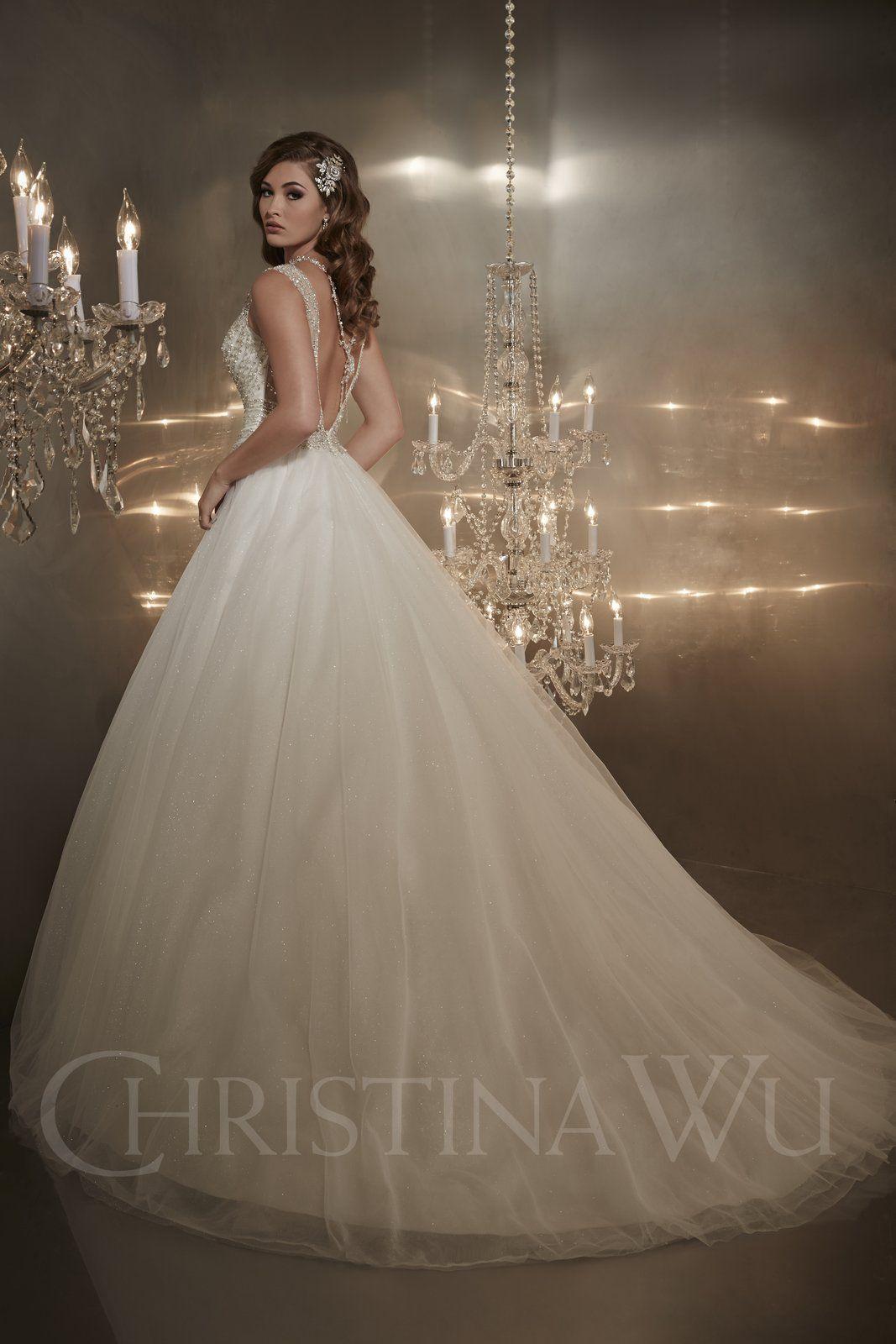 Vestido de Noiva Christina Wu 15561 | Moda Mundo