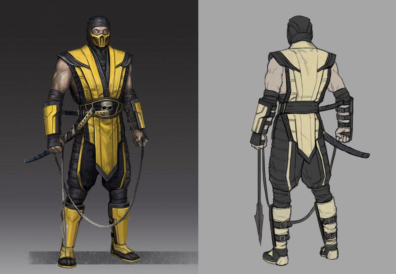 Scorpion Concept Artwork From Mortal Kombat 11 Art Artwork