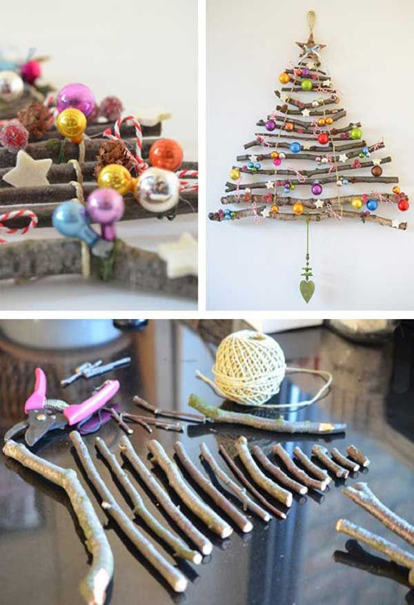 13 Christmas Tree With Branches In 2020 Cheap Christmas Diy Christmas Crafts Diy Diy Christmas Tree