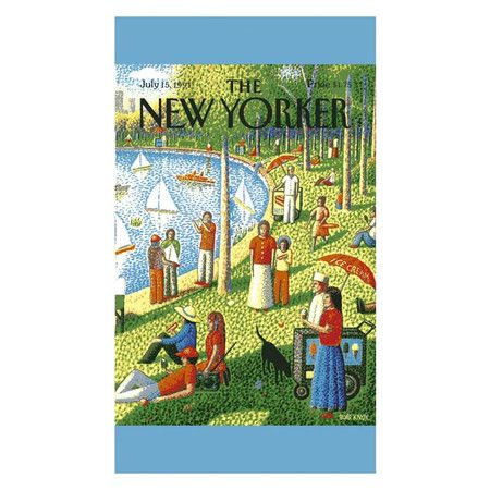 Conde Nast The New Yorker Beach Towel Iii New Yorker Covers The