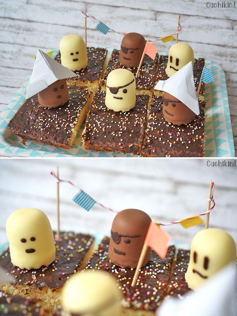Zum Abschied Ein Piratenkuchen Piratenparty Pirat Kuchen Kuchen