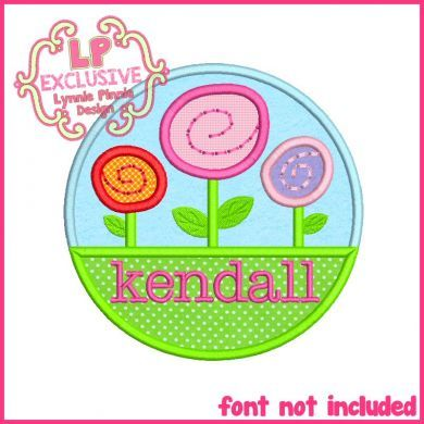See It All - Garden Circle Applique 4x4 5x7 6x10 SVG - Welcome to Lynnie Pinnie.com! Instant download and free applique machine embroidery designs in PES, HUS, JEF, DST, EXP, VIP, XXX AND ART formats.