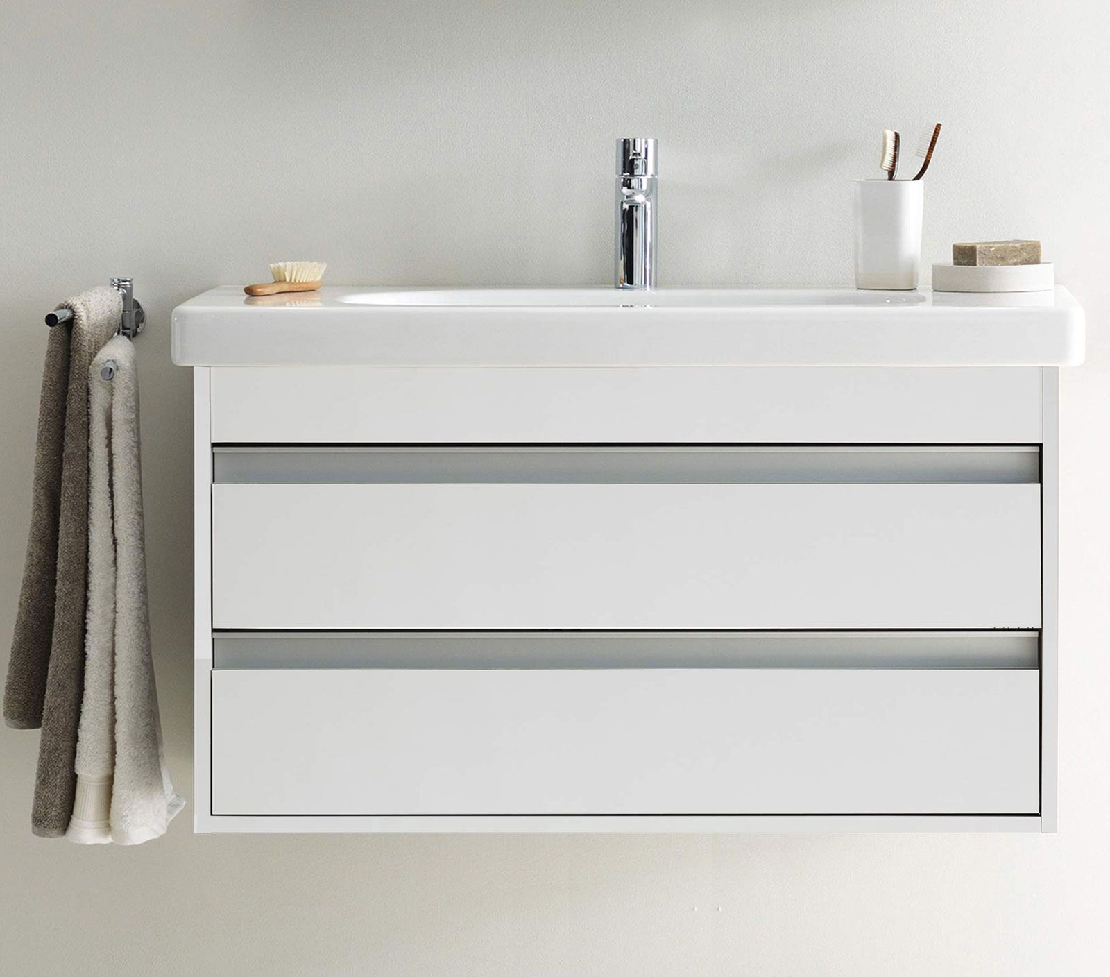 drawer amazon com and bathroom white abbey vanity drawers rectangular soft dp close includes doors inch carrara ceramic sink