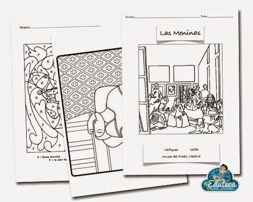 RECURSOS PRIMARIA | Completo cuaderno con fichas de Plástica ~ La Eduteca