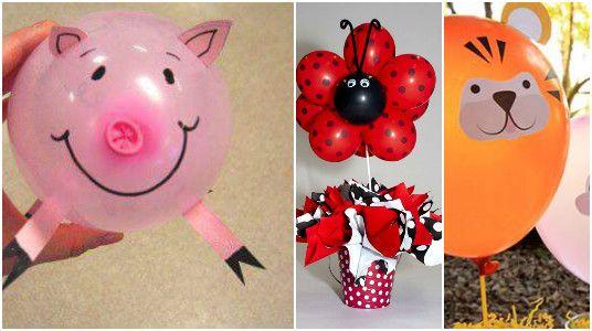 Haz Figuras de Animales con Globos Parties ideas Pinterest Craft