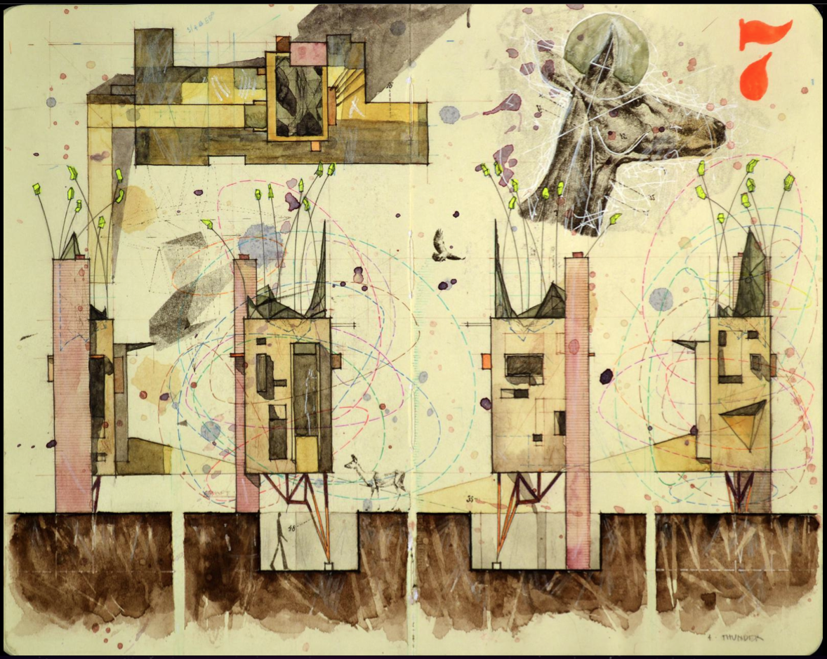 Chris Cornelius   Conceptual sketches, Architecture ...