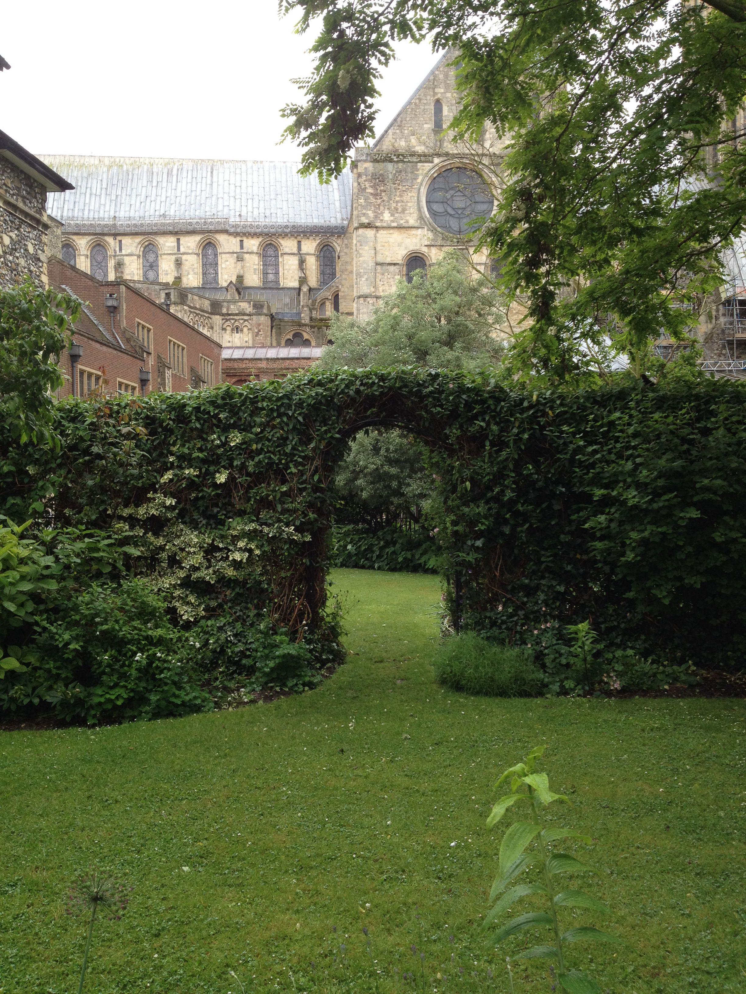Secret garden Kings School Canterbury | Garden king, House ...