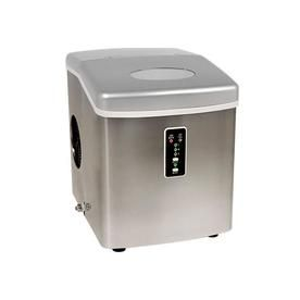 Edgestar 28 Lb Flip Up Door Portable Countertop Ice Maker Stainless Steel Ice Maker Portable Ice Maker Portable
