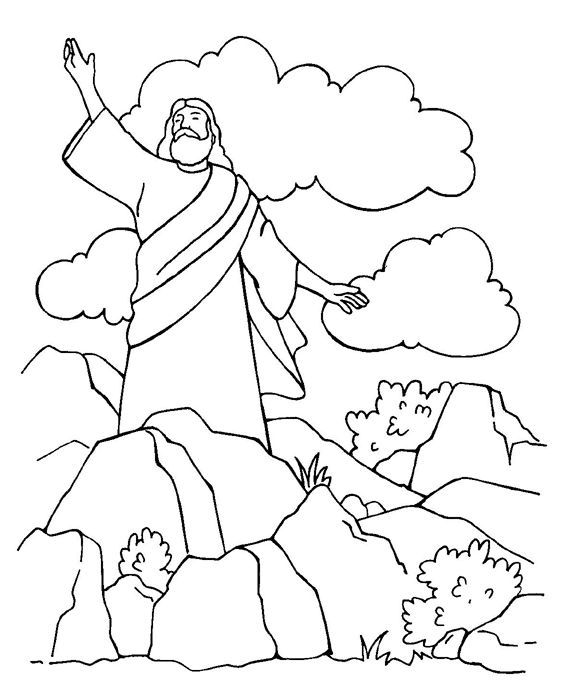 Pin By Michelle Dudley On Sunday School Jesus Coloring Pages