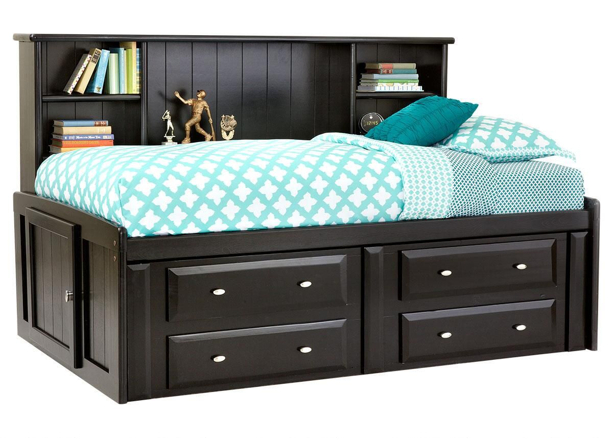 Catalina Twin Roomsaver Bed Bed Frame With Storage Twin Bed