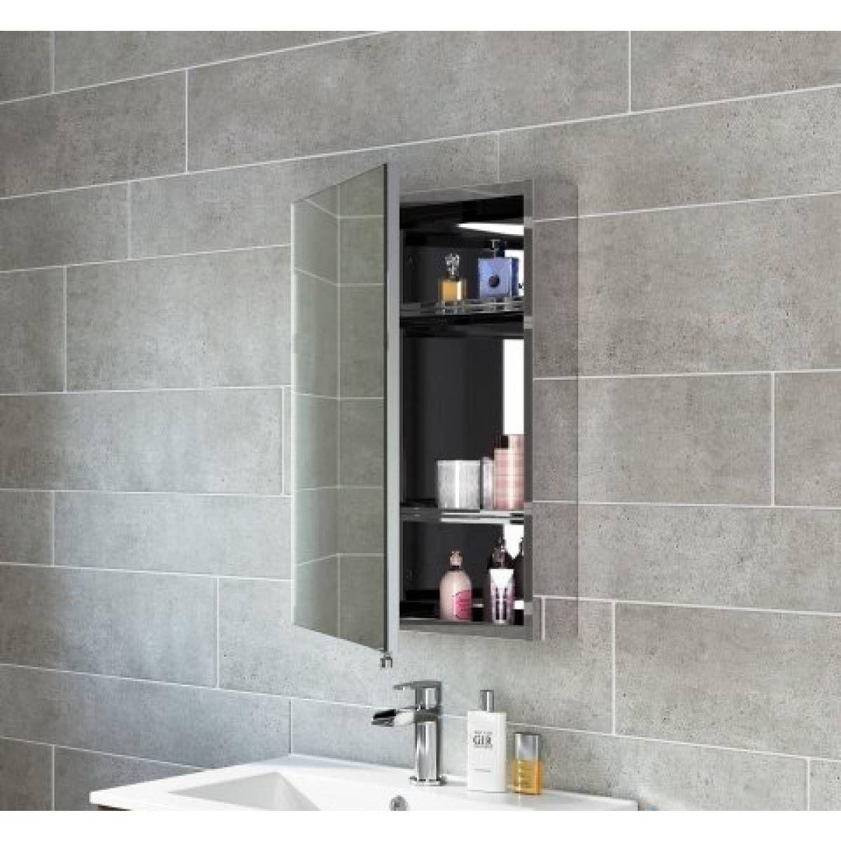 Bathroom Mirror With Storage Best Of 600x400mm Liberty Stainless Steel Single Door Mirror Cabinet Bathroom Mirror Storage Storage Mirror Bathroom Mirror