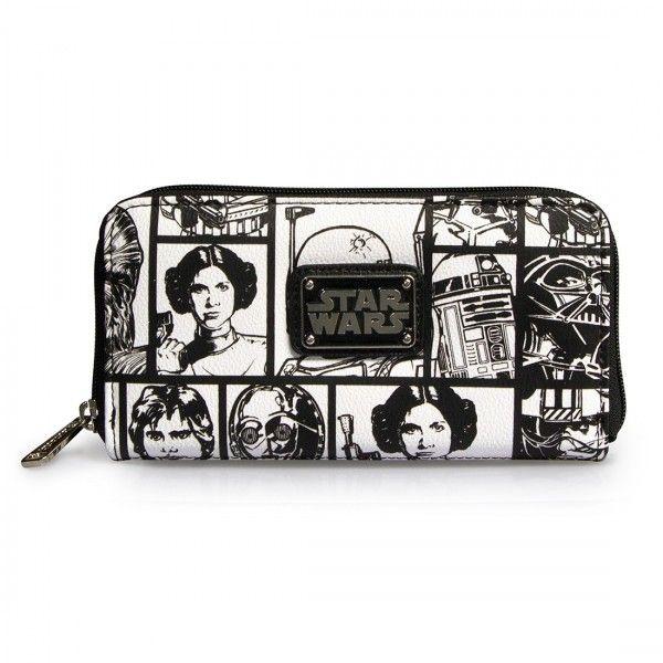 Carteira com a Princesa Leia!