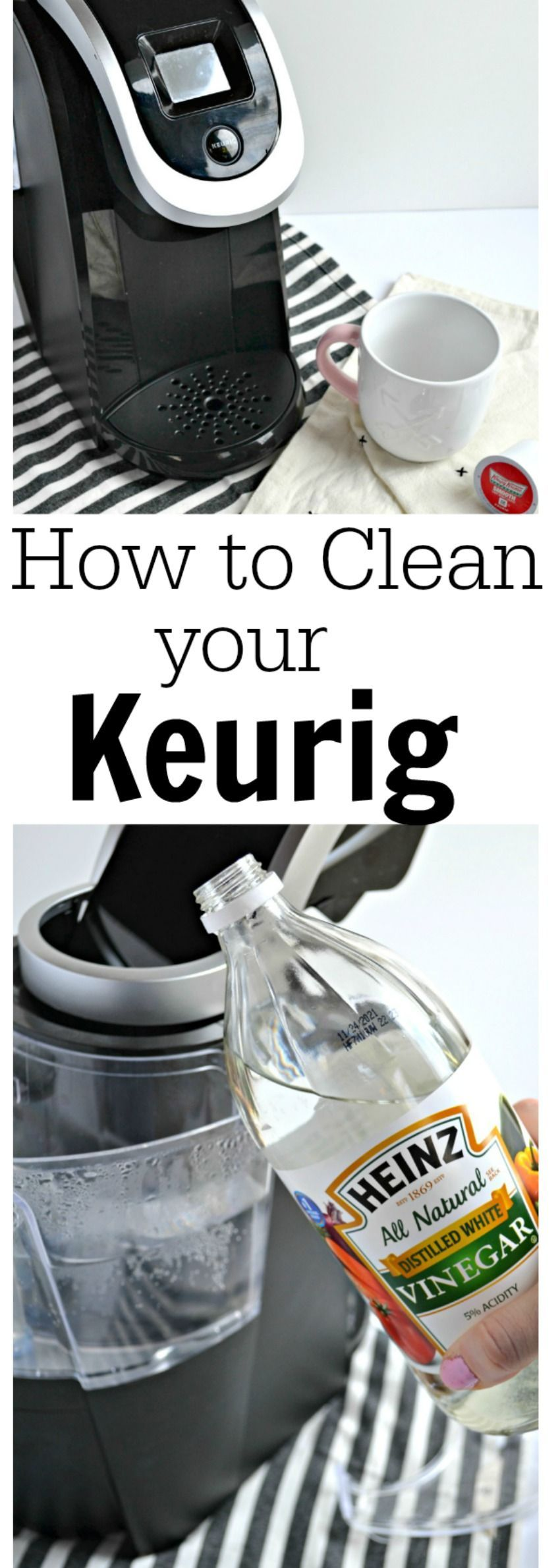 How to Clean a Keurig Coffee Maker. The best way to clean