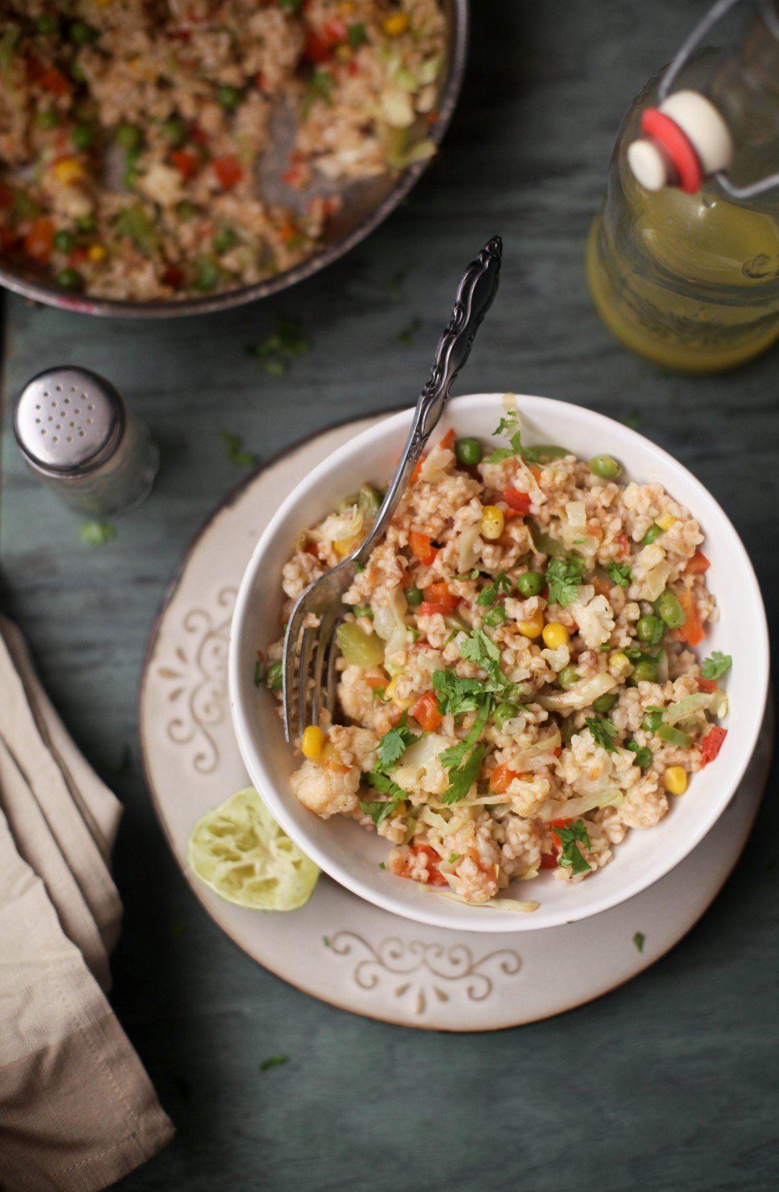 Namkeen Daliya, Savory Breakfast Oatmeal005, Sinfully Spicy