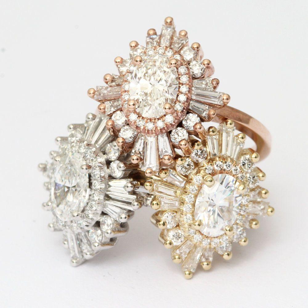 Unique Engagement Ring Settings, Heidi