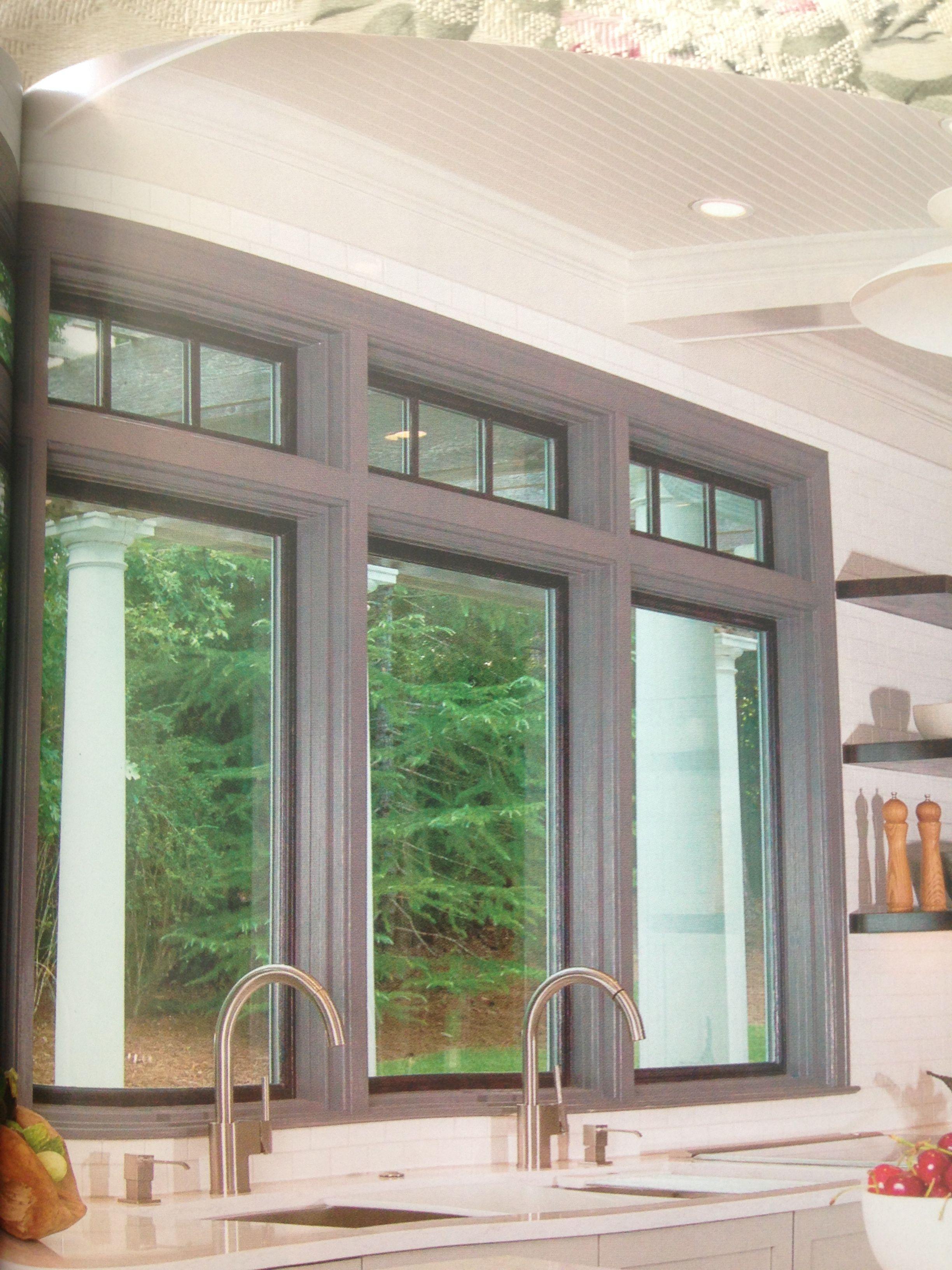 Interior window frames - Grey Window Frame