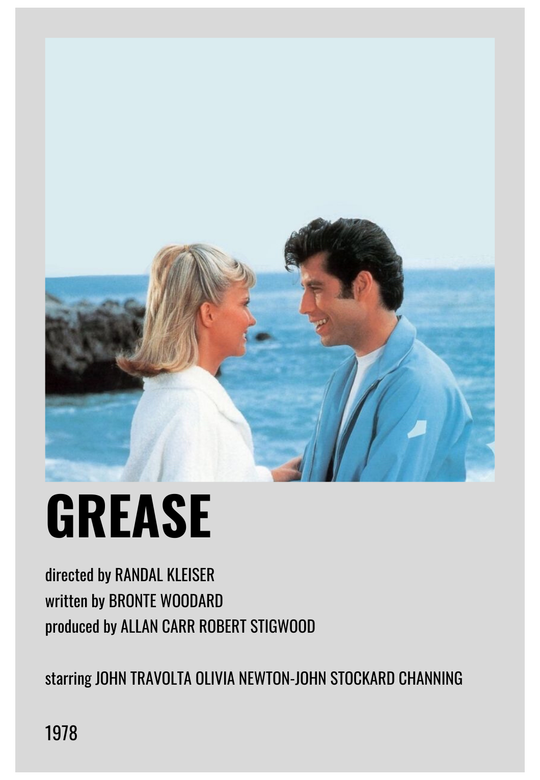 alternative movie posters grease